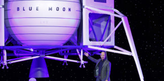 Blue Origin nave espacial Luna