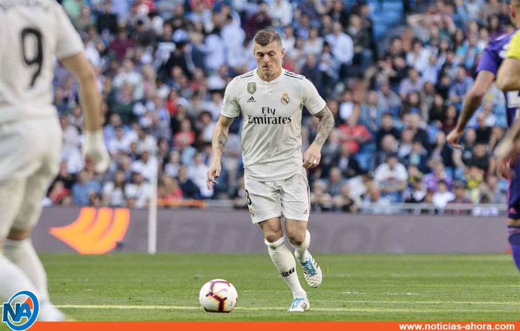 Real Madrid contrato Toni Kroos