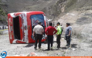accidente de tránsito en Ecuador