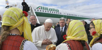 Papa Francisco visita Macedonia del Norte