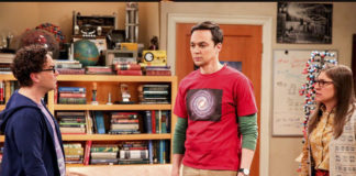 escena final the big bang theory