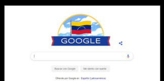 Google Independencia de Venezuela