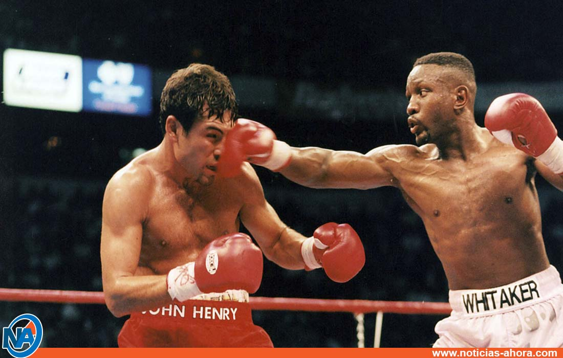 murió Pernell Whitaker