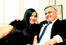 Tarek William Saab y su novia 3